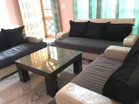 Seven Seater Sofa set with table !