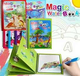 Magic Water Book Buku Gambar Air Ajaib  Bulpoint Baby Mainan Edukasi