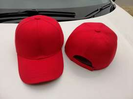 P-cap and hat with embroidry logo