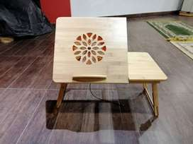 Large Size - Wooden Bamboo Laptop Table