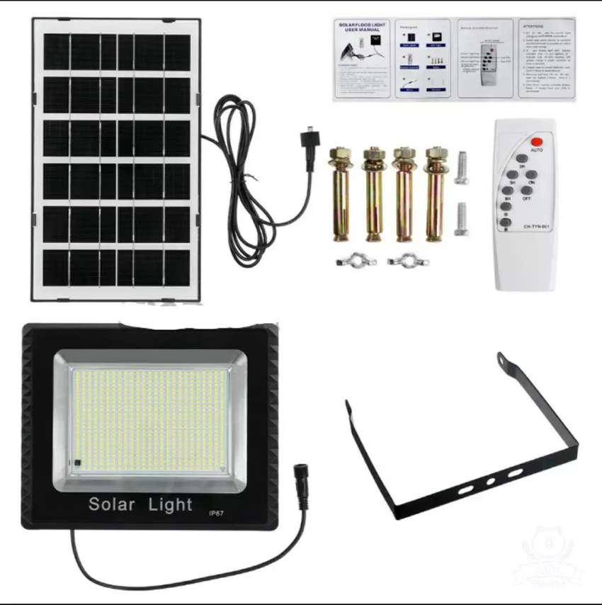 Lampu led tenaga matahari solar panel tanpa listrik pln 0