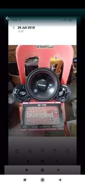 Power + sub + speaker coaxial
