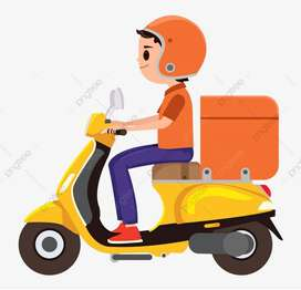Deliver boy earn up to Rs. 20000/-