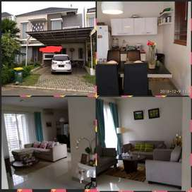 Dijual rumah citragran 2 lt, furnish tanah 170 hanya 2.8M