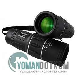 New-Teropong Monokular Focus and Zoom Lens Telescope 66M/8000M - 16x52