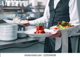 Wanted helper at canteen for serving food
