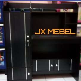 JX MEBEL# Tebal 30mm Meja Tulis Belajar Anak Black ada M Makan M Rias