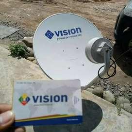 TV Parabola Mncvision (Indovision) satelit sband