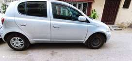 Toyota Vitz 1.0F Silver Color Used in Good Condition