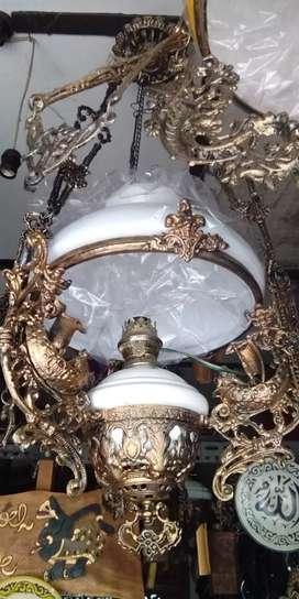 Lampu antik repro baru solo