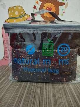 Cooler Bag Natural Mom's