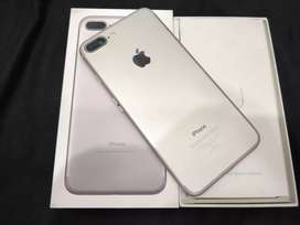 Showroom condition Apple iPhone 7 plus 32gb Silver with 5month bill