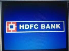 Opportunity to work with hdfc bank