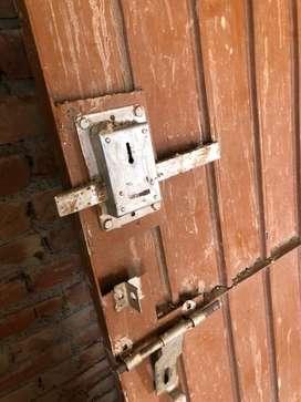 Iron Gate with Safty Lock