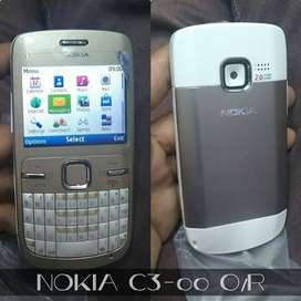 Original Nokia C-3 with wifi available || Delivery All Pakistan