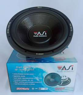 Subwoofer ASI -  Audio Solution  ASI D12 Type - Double Voice Coil