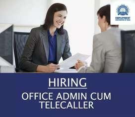 OFFICE ADMIN CUM TELECALLER (FEMALE)