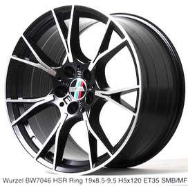 velg racing WURZEL HSR R19X85/95 H5X120 ET35 SMBMF