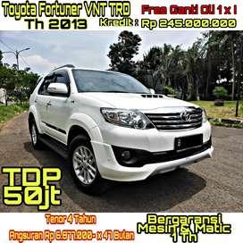 Toyota Fortuner TRD VNT Th 2013 A/T Turbo Timer Tgn 1 Dari Baru !