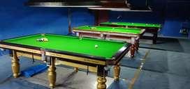 Snooker table and 8 ball pool table