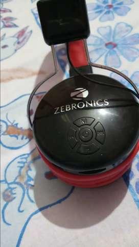 Zebronics Blutooth with Mic Headphone