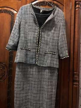 Stelan dress dan blazer import