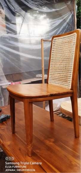 Kursi Cafe Rotan Sintetis, free ongkir
