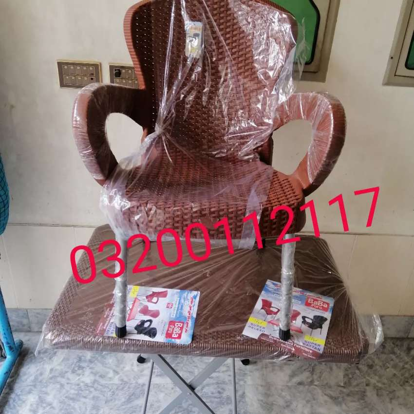 Plastic chairs table set high back chairs 03o54613692