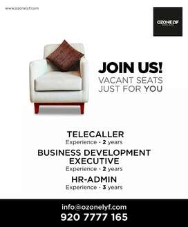 Telecallers and Business development executive