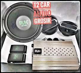 Paket audio CUBIG AVH muantep terlaris bonus led cosmetik grosir gan