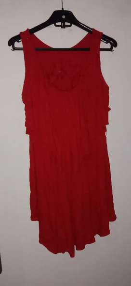 Dress merah 3/4