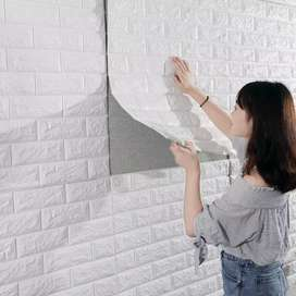 3D Brick Wallpaper - Available In Quantity For Buyers/Sellers