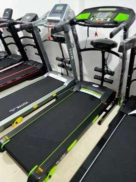 Treadmill multifungsi + alat getar penghancur lemak