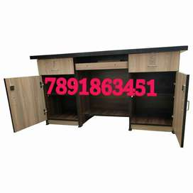 Neww wooden office table with cabinet drawer office furniture