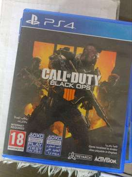 COD Black OPs 4 and Driveclub for PS4