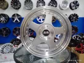 velg oz futura ring 16x7,5/9,0 hole 4x100 jaz yaris sigra march dll
