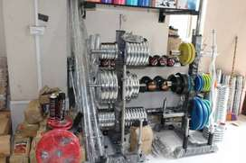 Gym equipments and accessories