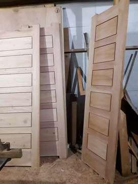 Kusen, pintu, lemari