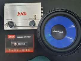 Paket Murah Tape Mobil Plus 1 Set Sound Mobil Bisa Di Cicil