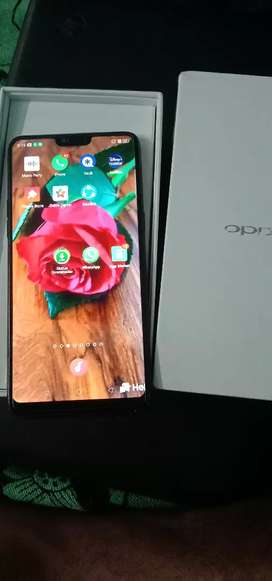 Oppo f7 2019 with Bill good condition mobile