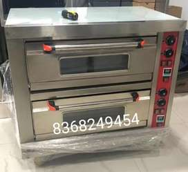 UNUSED COMMERCIAL DOUBLE DECK PIZZA OVEN UNUSED WITH DIGITAL METER