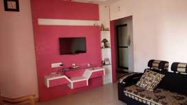 2 BHK FLAT, ROAD TOUCH, WITH FURNITURE.