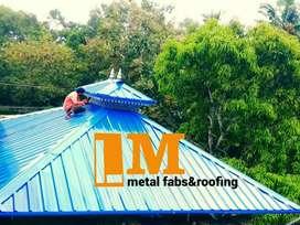 Roof work, aluminium kitchen cupboard work,  modern gate, steel work ,