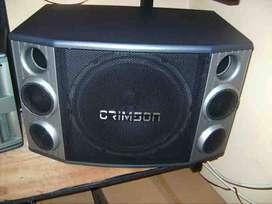 speaker karaoke 12''