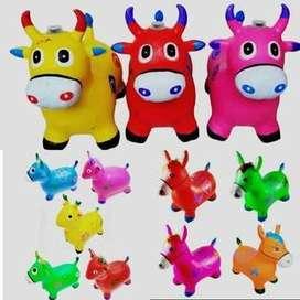 mainan anak kuda kudaan ready pink bielbaby jogja