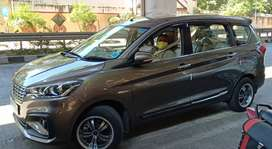 New Ertiga Car on rent