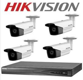 8-CCTV CAMERA SECURITY SYSTEM FULL HD 2-MP@1080-PX