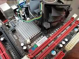 Paket Biostar G41D3+ & Intel Core2Quad Q6600