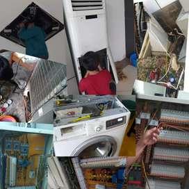 jasa servis AC,kulkas,mesin cuci& pemasangan baru / bekas