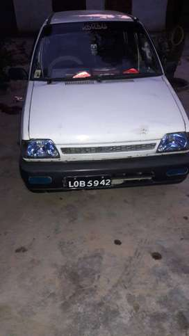 Mehran 1990 model neat car resonable price